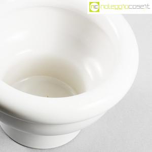 Ceramiche Bucci, vaso coppa bianco in ceramica, Franco Bucci (8)
