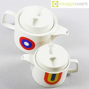 Ceramiche Franco Pozzi, teiere serie Compact con decoro Allegria, Ambrogio Pozzi (4)