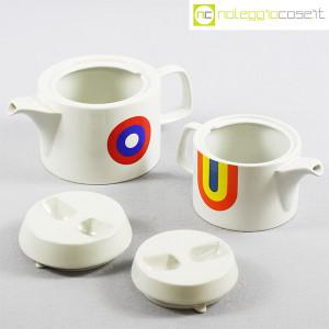 Ceramiche Franco Pozzi, teiere serie Compact con decoro Allegria, Ambrogio Pozzi (5)