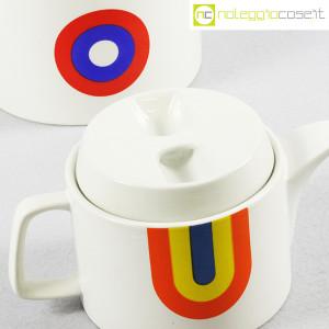 Ceramiche Franco Pozzi, teiere serie Compact con decoro Allegria, Ambrogio Pozzi (7)