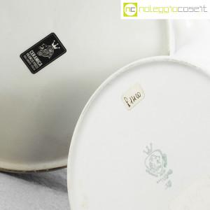 Ceramiche Franco Pozzi, teiere serie Compact con decoro Allegria, Ambrogio Pozzi (9)