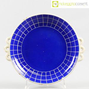 Ceramiche Pucci Umbertide, centrotavola piatto a fondo blu (1)