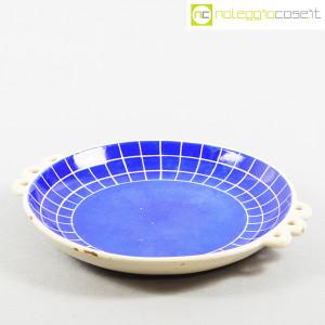Ceramiche Pucci Umbertide, centrotavola piatto a fondo blu (2)