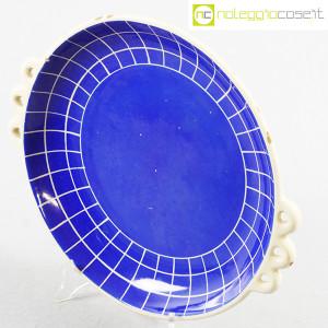 Ceramiche Pucci Umbertide, centrotavola piatto a fondo blu (4)
