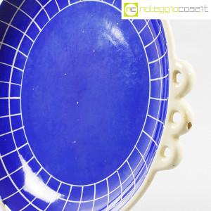 Ceramiche Pucci Umbertide, centrotavola piatto a fondo blu (6)