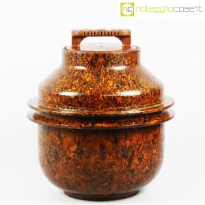 Contenitore grande in bachelite con tappo (1)