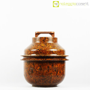 Contenitore grande in bachelite con tappo (2)