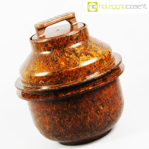 Contenitore grande in bachelite con tappo (3)