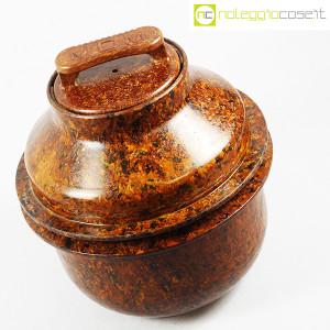 Contenitore grande in bachelite con tappo (4)