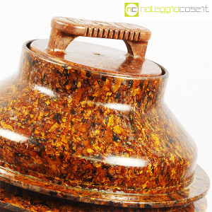 Contenitore grande in bachelite con tappo (8)