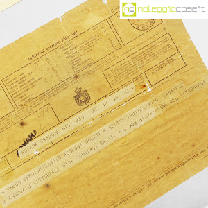 D'Annunzio Gabriele, telegramma richiesta di biscotti (4)