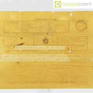 D'Annunzio Gabriele, telegramma richiesta di biscotti (5)