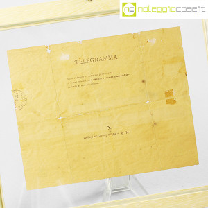 D'Annunzio Gabriele, telegramma richiesta di biscotti (6)