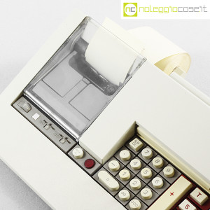 Olivetti, calcolatrice con stampante Logos 58, Mario Bellini (8)