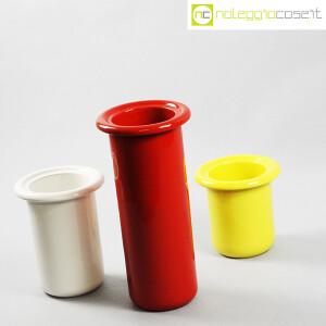 Rometti, vasi bianco rosso e giallo (3)
