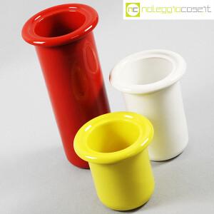 Rometti, vasi bianco rosso e giallo (4)