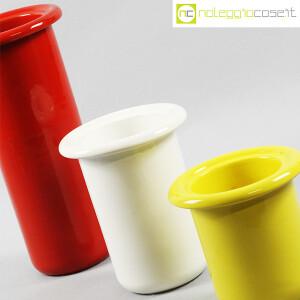 Rometti, vasi bianco rosso e giallo (5)