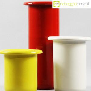 Rometti, vasi bianco rosso e giallo (6)