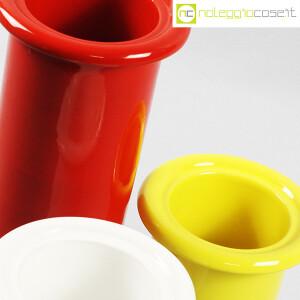 Rometti, vasi bianco rosso e giallo (8)