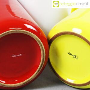 Rometti, vasi bianco rosso e giallo (9)