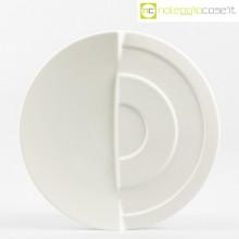 Rosenthal piatto bianco a rilievo