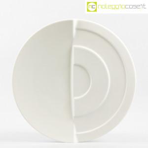 Rosenthal, piatto bianco con decoro a rilievo (1)