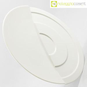 Rosenthal, piatto bianco con decoro a rilievo (3)