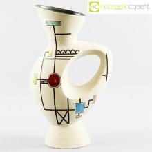 Ceramiche Albissola vaso alto decori