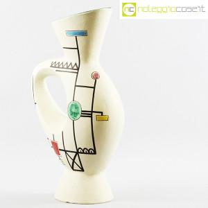 Ceramiche Albissola, vaso alto con decori geometrici (2)