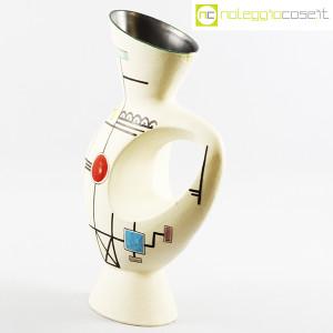 Ceramiche Albissola, vaso alto con decori geometrici (3)