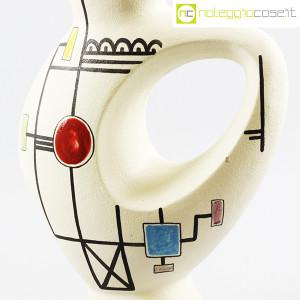 Ceramiche Albissola, vaso alto con decori geometrici (5)