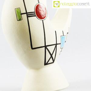 Ceramiche Albissola, vaso alto con decori geometrici (7)