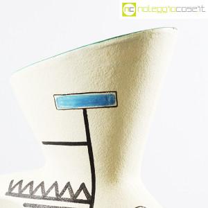 Ceramiche Albissola, vaso alto con decori geometrici (8)