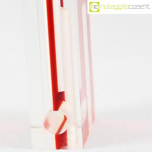 Guzzini, vaso rosso in plexi (8)