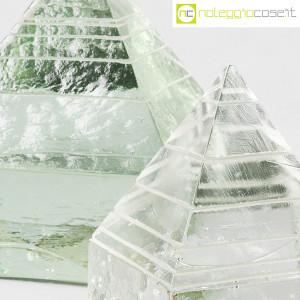 Piramidi in vetro pieno lavorato (8)