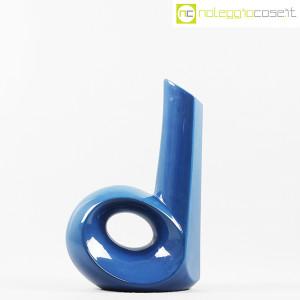 Vaso blu con foro e collo alto (2)