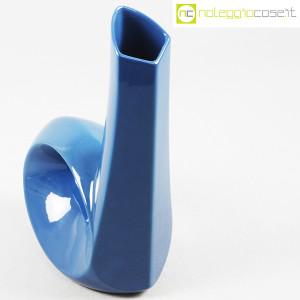 Vaso blu con foro e collo alto (4)