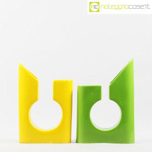 Vaso colore verde e giallo in ceramica (2)