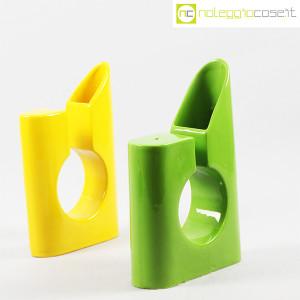 Vaso colore verde e giallo in ceramica (3)