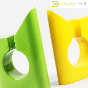 Vaso colore verde e giallo in ceramica (5)