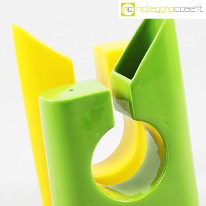 Vaso colore verde e giallo in ceramica (7)