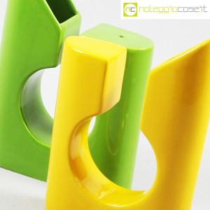 Vaso colore verde e giallo in ceramica (8)