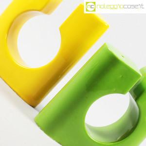 Vaso colore verde e giallo in ceramica (9)