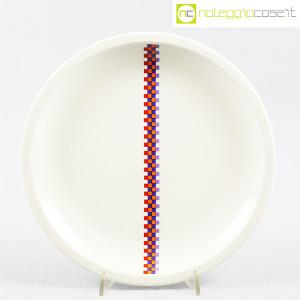 Ceramiche Laveno, piatto con decoro geometrico (1)