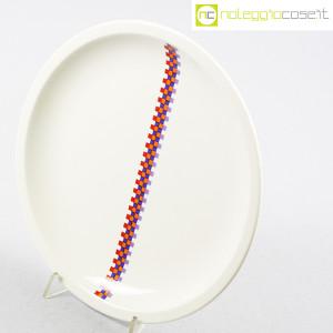 Ceramiche Laveno, piatto con decoro geometrico (4)