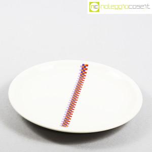 Ceramiche Laveno, piatto con decoro geometrico (5)