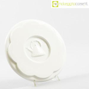 Alessi, sottopentola in ceramica bianco, Michael Graves (3)