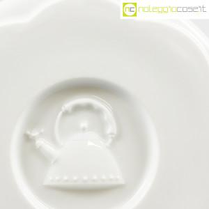 Alessi, sottopentola in ceramica bianco, Michael Graves (5)