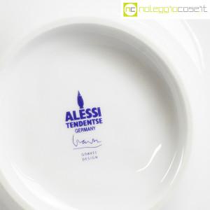 Alessi, sottopentola in ceramica bianco, Michael Graves (9)