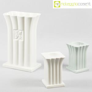 Alessi, vaso e portacandela in ceramica, Michael Graves (1)